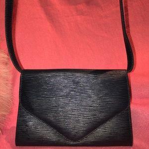 Stefano Bravo Epi Leather Envelope Crossbody Bag